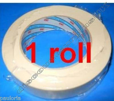 3M MASKING TAPE 2328 x1 - 24mm x 50m Roll Body Shop Use *RR23* Automotive Detail