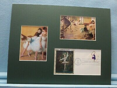 Degas - Ballet Dancers & First Day Cover - Ballet Stamp
