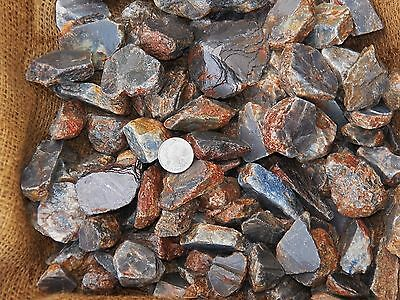 1000 Carat Lots of Blue Sapphire Rough - Plus a FREE Faceted Gemstone