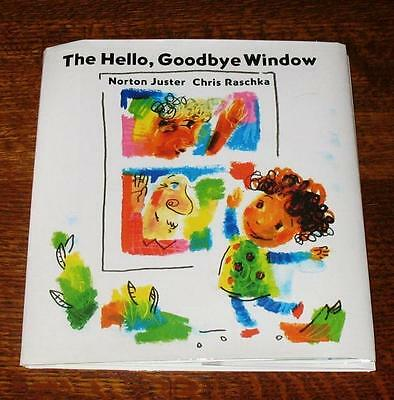 2X SIGNED Uncorrected Proof THE HELLO GOODBYE WINDOW Norton Juster Chris Raschka