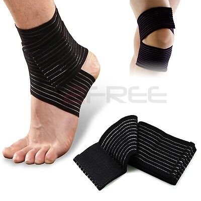 New Elastic Bandage Therapy Sport Brace Wrap Knee,Wrist,Ankle, Elbow Pain Relief