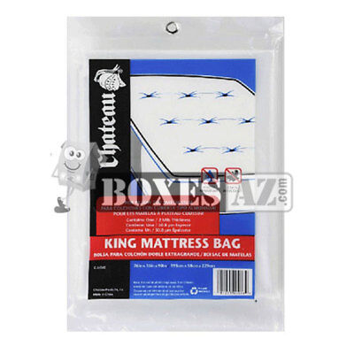 King Mattress Bag fits Pillow Top and California King Mattress &  Box Spring