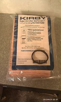 9 Sentria Micron Magic G3-6 Kirby Vacuum Bags FREE BELT to fit Kirby NEW & OEM