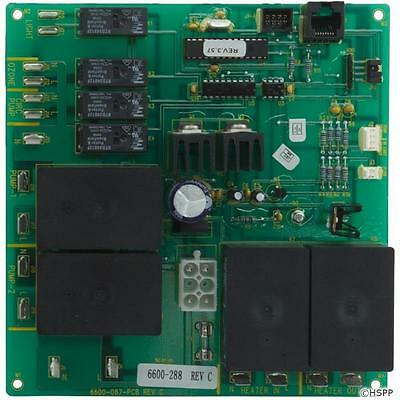 JACUZZI® CIRCUIT BOARD PCB: 680, 780 LX-15 SWEETWATER - 6600-288, 6600-726