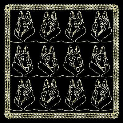 Doggy Quilting Backgrounds - 30 Machine Embroidery Designs (Azeb)
