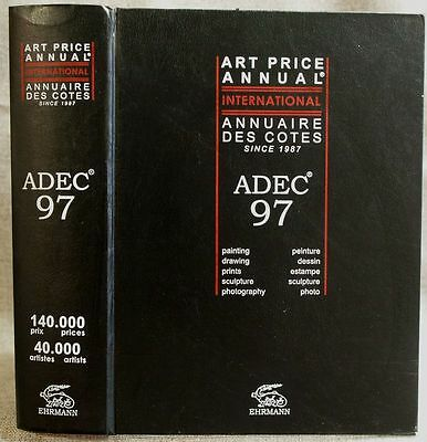 ADEC Art Price Annual & Falk's Art Price Index 97 in very good condition