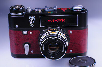 **New**MOSCOW 1980 OLYMPIC Leica Camera Copy  M3 M4 MP 009-30