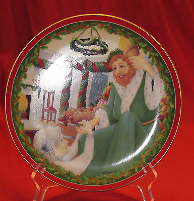 Department 56 Dickens Village Collector Plate