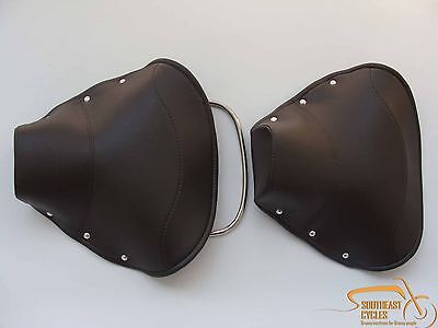Front and Rear  solo seat cover  for Lambretta  LI TV Series 1 2 3 MANY COLORS