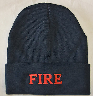 Fire Beanie ( Fire Dept)  ( Other Options Avail) $12.95 Free Shipping