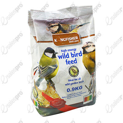 Bird feed food wild bird mix high energy .9kg bags (c 2lb) 1 or 2 bag deals