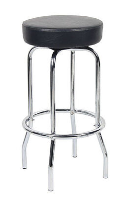 New Drafting Stool Chair With Chrome Foot Ring B229