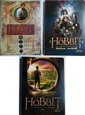 Spiralblock kariert DIN A4 Hobbit Bilbo Notizblock Notizbuch Notizheft Schulheft