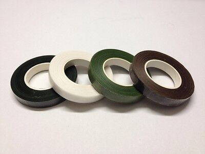 Reel Of Green Or White Floral Tape,Button Hole Or Wire Stem Tape Etc .