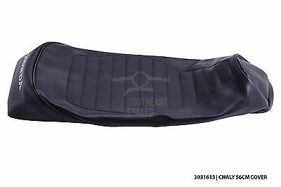 Black seat cover for honda chaly CF50 CF70 1981 onwards 46cm lenght