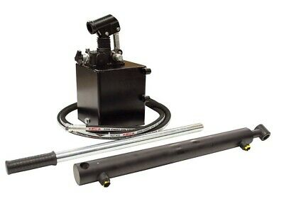 Flowfit Hydraulic S/A Handpump Trailer Kit Lift 2.5 Tonne 400mm ZZ000778