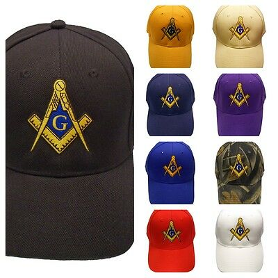 Master Mason Hat Cap Embroidered in the USA 883PC