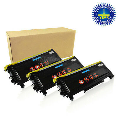 3 V4INK TN350 Toner For Brother Intellifax 2820 2920 HL-2040 2070N MFC-7420 7220