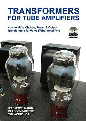 DIY Video: Make CHOKES power & output TRANSFORMERS for valve tube amplifiers P1