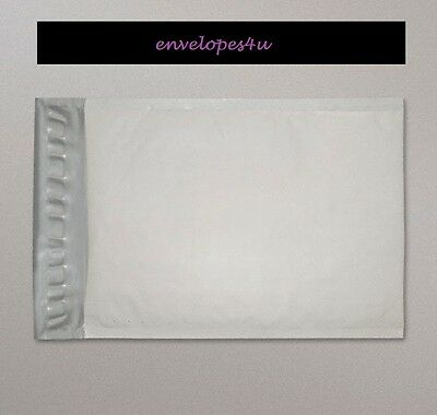 White Poly RECYCLABLE Padded Bubble Envelopes 90x145mm PP1 A7 Size FREE P&P !!!