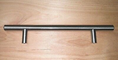 "Kitchen Cabinet ""solid"" Steel, Stainless Steel Finish, Door, Drawer Bar Pull"