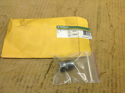 NEW Greenlee 13283 Injector Pack Nut for 767 Hydraulic Hand Pump.