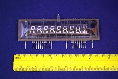 FIP9B10 NEC Nixie Era 7-segm 9-digit Calculator/Clock RARE VFD Display Tube NEW