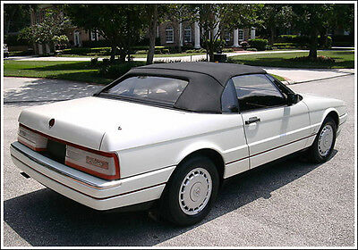 NEW Cadillac allante Convertible Soft Top HAARTZ STAYFAST CLOTH 1987-1993