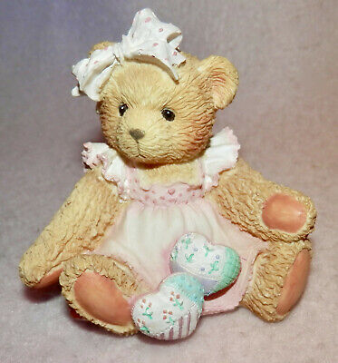 """Cherished Teddies Amy  """"hearts Quilted With Love"""""""