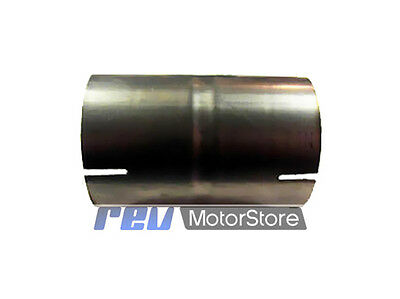 """exhaust pipe 3"""" joiner 76mm coupler sleeve stainless steel T304"""