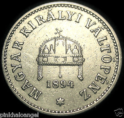 Hungary - Austro-Hungarian Empire - Hungary 1894KB 10 Filler Coin -GREAT COIN