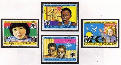 Chad 1979 International Year of the Child SG 561/564 FU