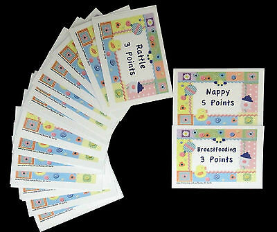 Baby Shower Game - Baby Charades - 32 Cards Included