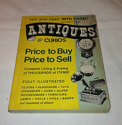 Antiques & Curios Price to Buy Price To Sell 1968 Vintage Book