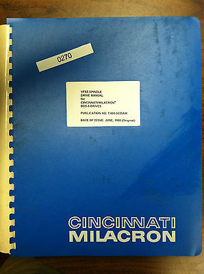 Cincinnati VF5S Spindle Drive Manual for BDS5 Drives Pub.# 7-000-5035AM