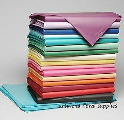 50 sheets tissue paper 30 x 20 inch PLENTY OF COLOURS STOCKED