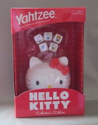 Yahtzee Hello Kitty Collector's Edition