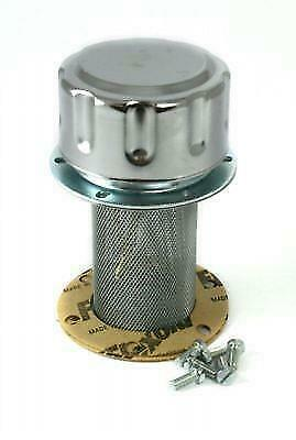 HYDRAULIC FILLER BREATHER 6 HOLE MOUNT FOR RESERVOIRS FT8C401 Free UK Delivery