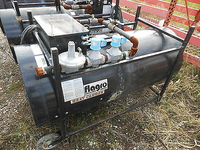 Flagro Industries F-1000T Dual Fuel Construction Heater USED...needs Motor