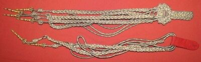 Antique WWI WW1 Royal Bulgaria  General's Aiguillette Shoulder Cord