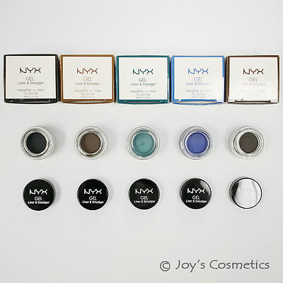 """1 NYX Gel Liner and Smudger -Naughty vs nice """"Pick Your 1 Color""""*Joy's cosmetics"""