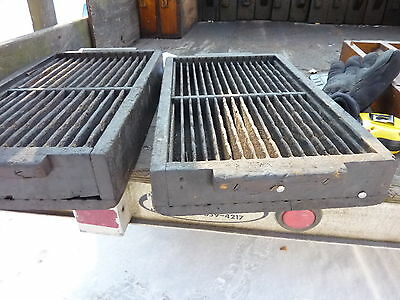 salvaged ANTIQUE WOODEN warehouse factory box tray GREAT decor storage 20 X 12""