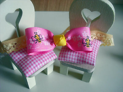 Hand Made Bright And Colorful Babies Hair Band And Bobbles