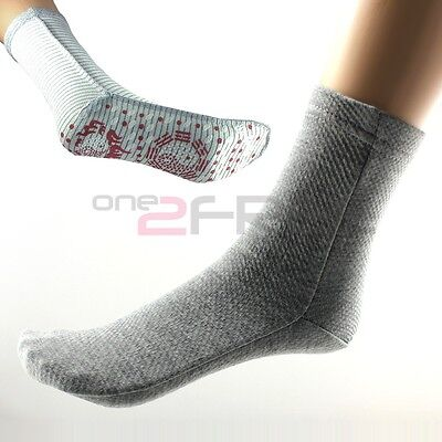 New Power Ionics F.I.R Self Heat Magnetic Fiber Therapy Arthritis Thick Socks