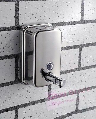 Stainless Steel Wall Mounted Soap Dispenser Body/Hand/Hair Wash Dispenser 3 Type