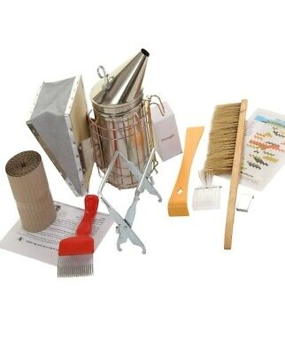 Beekeeping Stainless Steel  Bee Smoker and Starter Tool Kit
