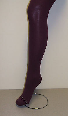 Plus Size Ladies 1 Pair 70 Denier Opaque Tight with Lycra - Berry- Various sizes