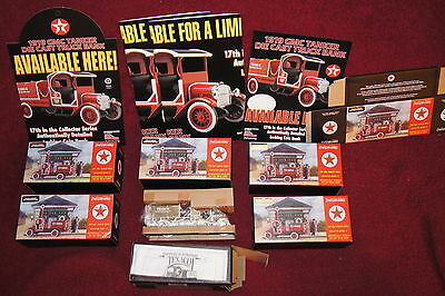 Texaco SPECIAL CHROME MILLENNIUM EDITION 1919 GMC Tanker Truck Bank DIECAST