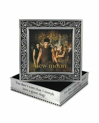 Twilight Jacob Wolf Pack New Moon Metal Jewelry Box Schmuckkästchen Dose NECA