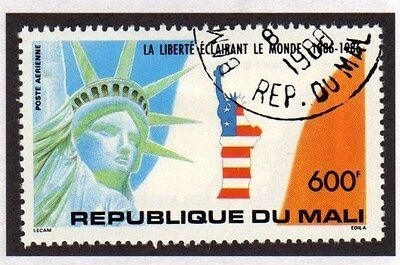 Mali 1988 Statue of Liberty Stamp FU